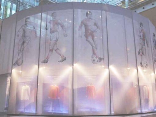 UEFA – EXPOSICIÓN CAMISETAS