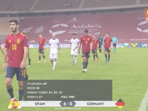 UEFA Nations League – España vs Alemania